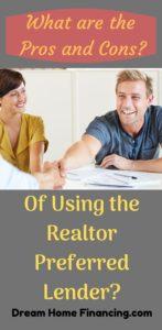 Using the Realtor Preferred Lender