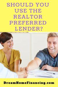 realtor preferred lender