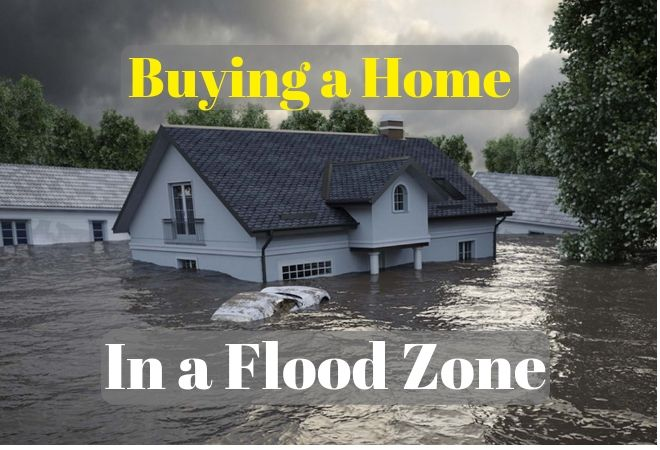 Buying a home in a flood zone