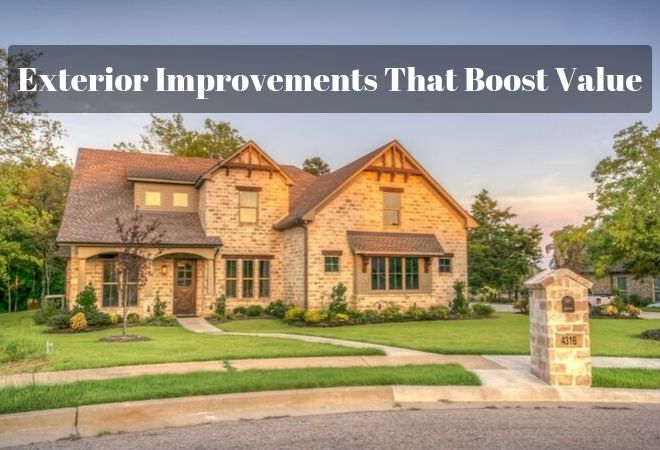 exterior improvements boost property value
