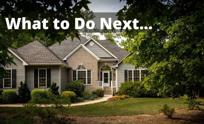 what to do after buying a house